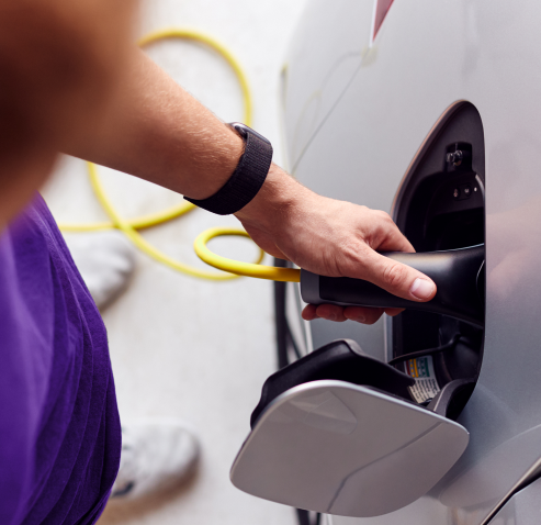 EV charging with mobile fueling